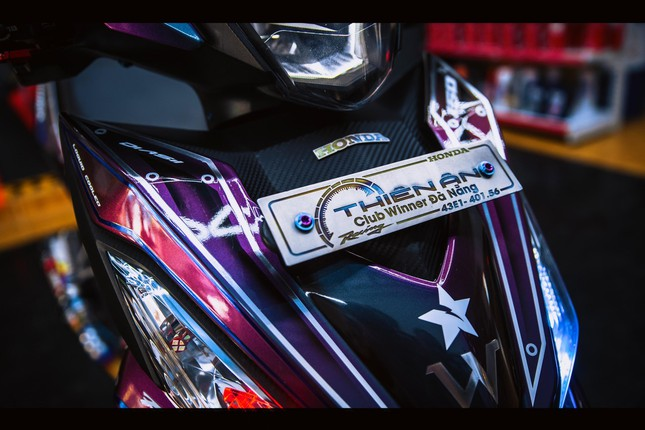 Honda Winner gắn loạt đồ chơi hàng hiệu của biker Đà Nẵng ảnh 11