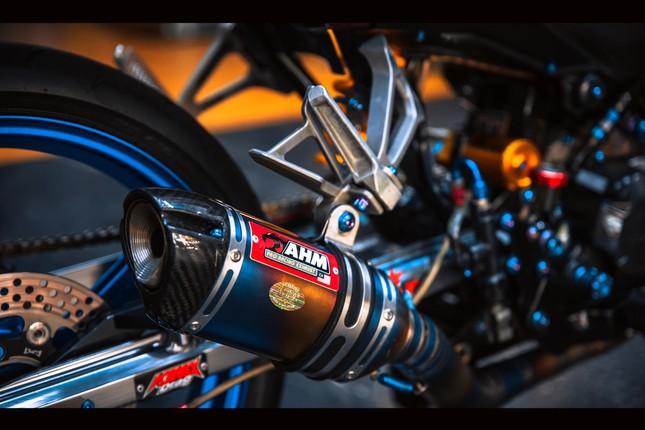 Honda Winner gắn loạt đồ chơi hàng hiệu của biker Đà Nẵng ảnh 8