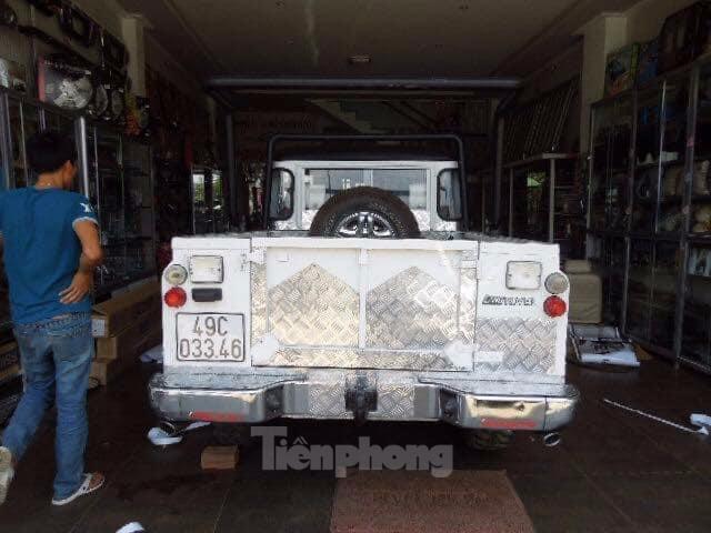 Ba chiếc Land Rover đời cổ của chàng kỹ sư tại Lâm Đồng ảnh 7