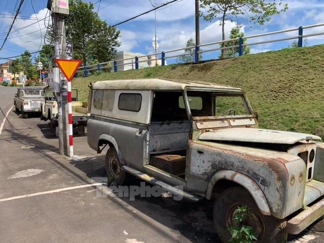 Ba chiếc Land Rover đời cổ của chàng kỹ sư tại Lâm Đồng ảnh 2