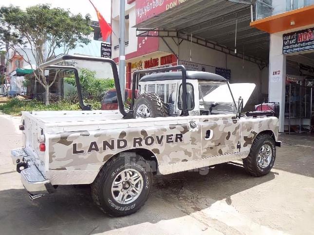 Ba chiếc Land Rover đời cổ của chàng kỹ sư tại Lâm Đồng ảnh 5