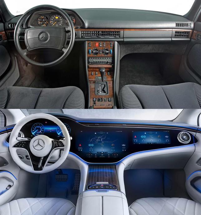 Nội thất của các mẫu xe nổi tiếng thay đổi ra sao qua 40 năm? ảnh 5