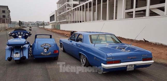 Dân chơi xế cổ độ Chevrolet Impala 'nhún nhảy' ảnh 6
