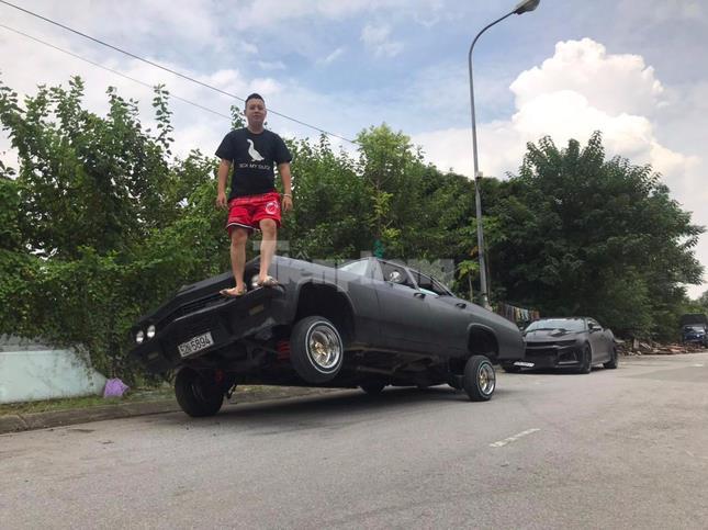 Dân chơi xế cổ độ Chevrolet Impala 'nhún nhảy' ảnh 5