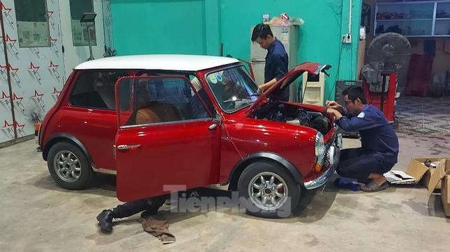 Tái hiện Mini Cooper phong cách Mr Bean tại Bến Tre ảnh 7