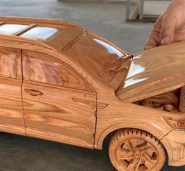 Mô hình Kia Sorento bằng gỗ độc đáo của thợ Việt ảnh 6