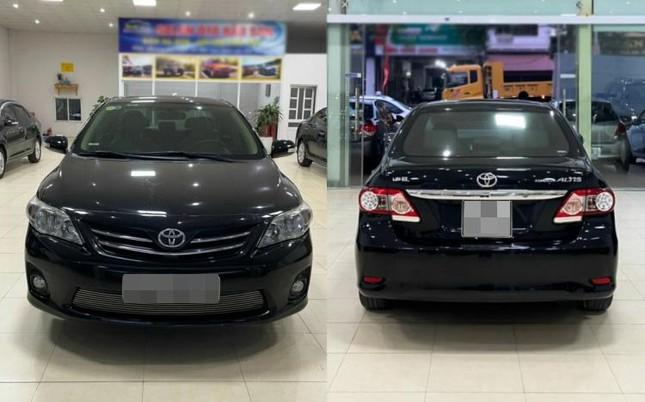 Corolla Altis 2013 rao bán 500 triệu đồng: Khách Việt có xuống tiền? ảnh 1
