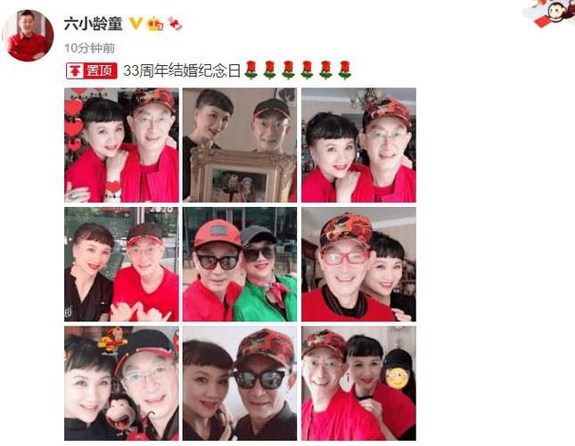 'Tôn Ngộ Không' Lục Tiểu Linh Đồng kỉ niệm 33 năm cưới bà xã là bạn diễn 'yêu quái' ảnh 1