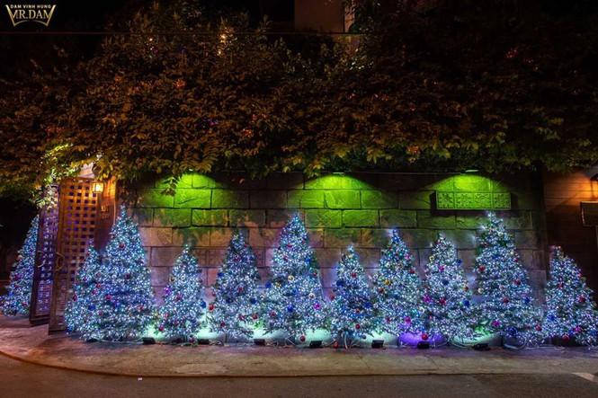 Choáng ngợp sắc màu Noel trong biệt thự 60 tỷ của Đàm Vĩnh Hưng - ảnh 2