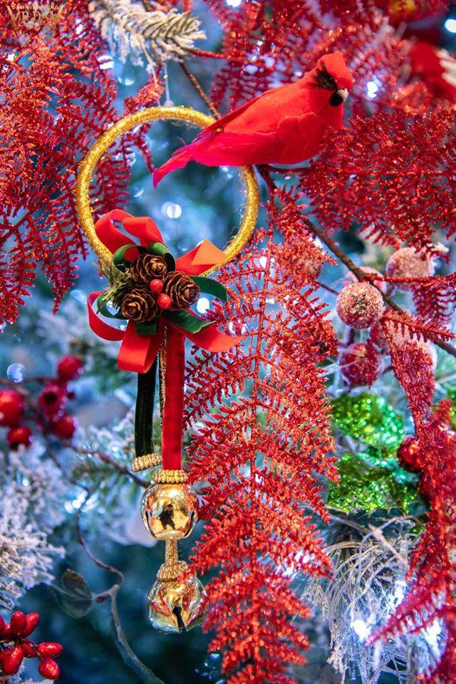 Choáng ngợp sắc màu Noel trong biệt thự 60 tỷ của Đàm Vĩnh Hưng - ảnh 7