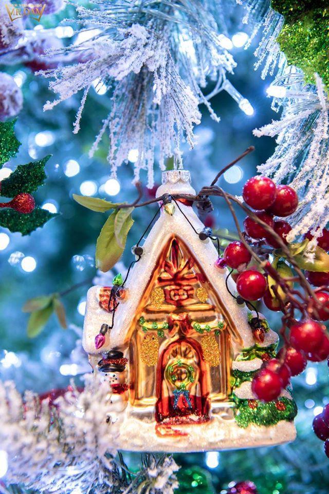 Choáng ngợp sắc màu Noel trong biệt thự 60 tỷ của Đàm Vĩnh Hưng - ảnh 9
