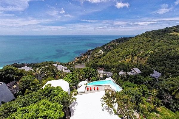 Ngắm khu biệt thự 'chênh vênh' bên vách đá nhìn ra biển tuyệt đẹp - ảnh 4