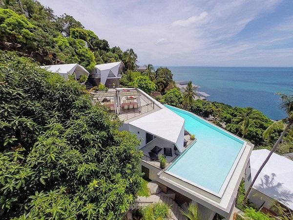 Ngắm khu biệt thự 'chênh vênh' bên vách đá nhìn ra biển tuyệt đẹp - ảnh 5