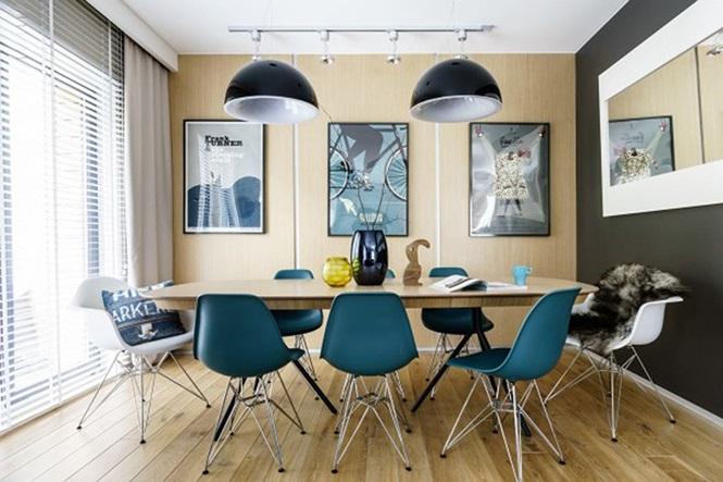Những mẫu phòng ăn đơn giản, sang trọng vạn người mê - ảnh 2