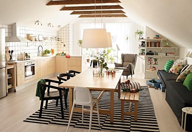Những mẫu phòng ăn đơn giản, sang trọng vạn người mê - ảnh 3