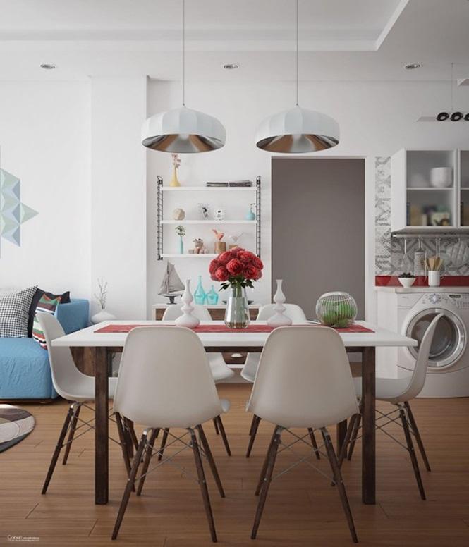Những mẫu phòng ăn đơn giản, sang trọng vạn người mê - ảnh 5
