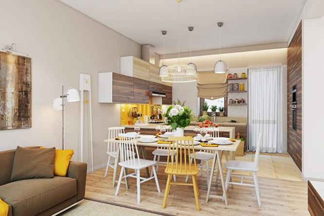 Những mẫu phòng ăn đơn giản, sang trọng vạn người mê - ảnh 7
