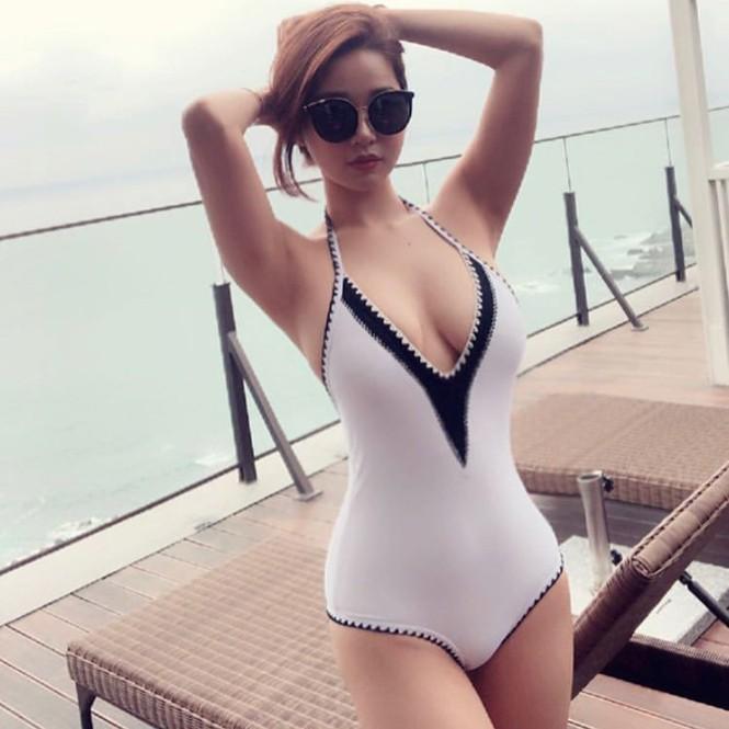 Đường cong gây chao đảo của 'Hoa hậu siêu vòng ba' Trung Quốc - ảnh 5