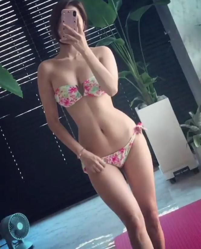 Đường cong gây chao đảo của 'Hoa hậu siêu vòng ba' Trung Quốc - ảnh 8