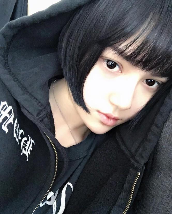 Ngỡ ngàng mặt mộc của 'búp bê sống' Kina She với vẻ đẹp siêu thực - ảnh 5
