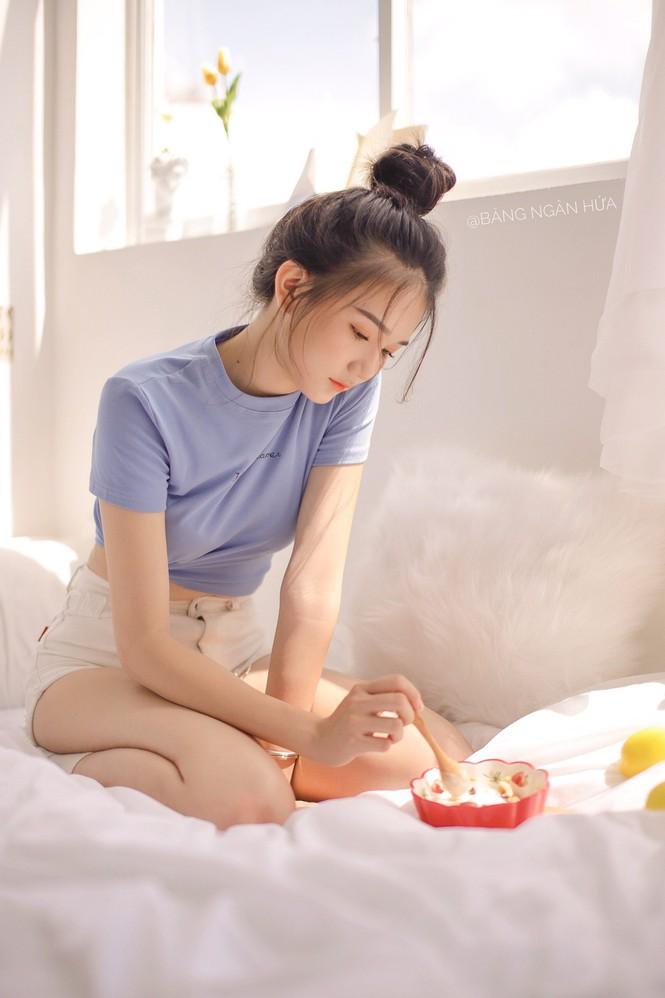 """Nữ sinh 10X Bình Dương sở hữu nhan sắc ngọt ngào tựa """"búp bê lai"""" - ảnh 13"""