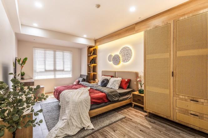 Căn chung cư đẹp cuốn hút của vợ chồng trẻ Hà Nội - ảnh 4