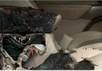 Cháy ôtô vì để quên pin Iphone bên trong xe