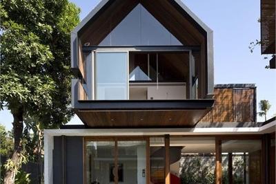 Những kiểu nhà mái và mặt tiền khác biệt gây tò mò nhưng siêu ấn tượng