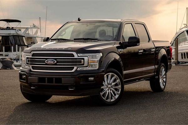 Top 10 mẫu xe người Mỹ mua nhiều nhất