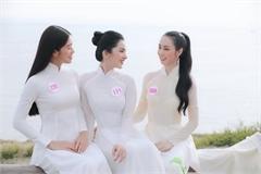 Thí sinh Hoa hậu Việt Nam 2020 đẹp tinh khôi với áo dài trắng