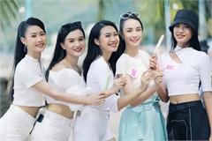 Nét hồn nhiên 'toả nắng' của những cô gái HHVN 2020