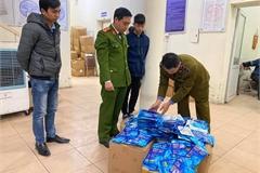 Thu giữ gần 300 'thẻ diệt virus corona' tại chợ thuốc Hapulico