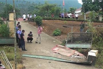 Công an Lào Cai thông tin về vụ sập cổng trường khiến 6 học sinh thương vong