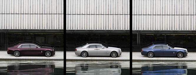 Rolls-Royce Ghost phiên bản đặc biệt với số lượng chỉ 50 xe - ảnh 3