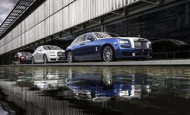Rolls-Royce Ghost phiên bản đặc biệt với số lượng chỉ 50 xe - ảnh 1