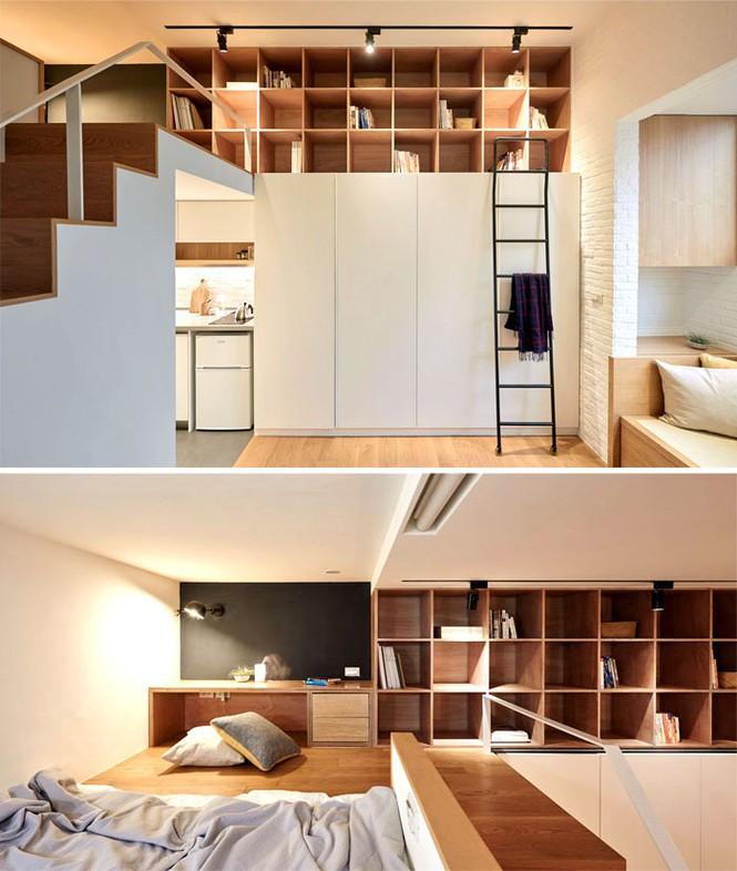 Những căn hộ siêu nhỏ, cực chất nhìn mê liền nhờ thiết kế thông minh - ảnh 3