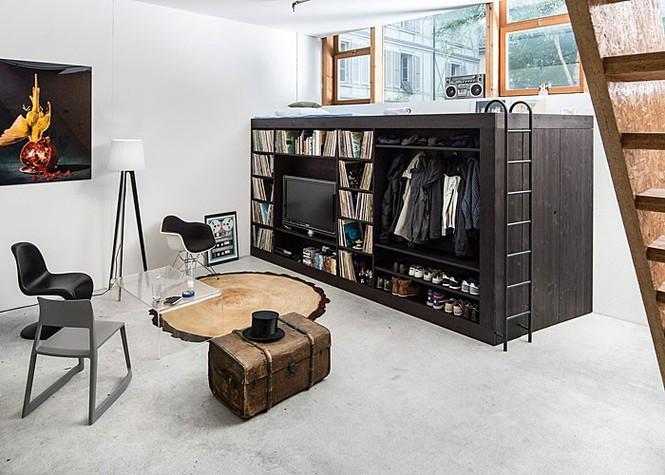 Những căn hộ siêu nhỏ, cực chất nhìn mê liền nhờ thiết kế thông minh - ảnh 7