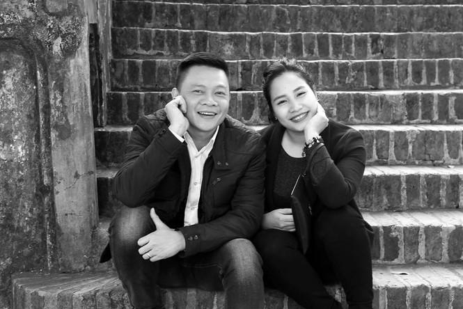 Nhan sắc bà xã kín tiếng của BTV Quang Minh - ảnh 4