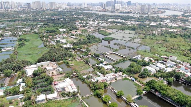 Bên trong 'siêu' đô thị bị quy hoạch treo gần 30 năm giữa lòng Sài Gòn - ảnh 3