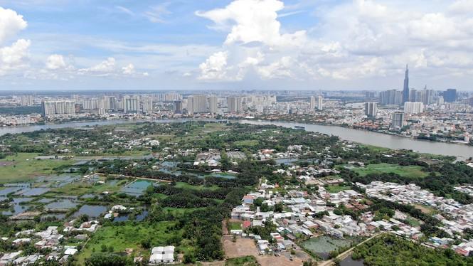 Bên trong 'siêu' đô thị bị quy hoạch treo gần 30 năm giữa lòng Sài Gòn - ảnh 24