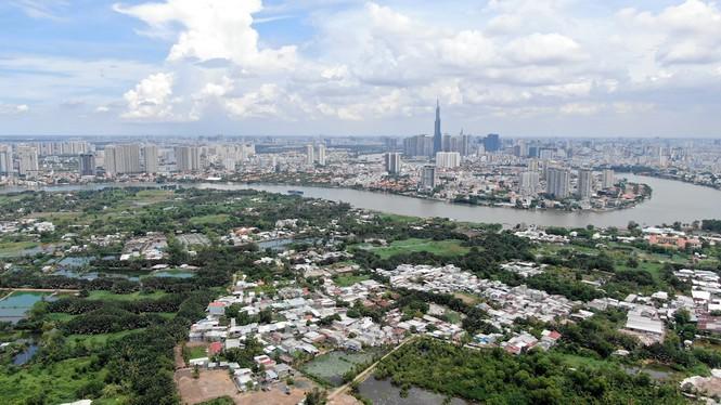 Bên trong 'siêu' đô thị bị quy hoạch treo gần 30 năm giữa lòng Sài Gòn - ảnh 25