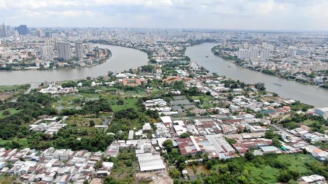 Bên trong 'siêu' đô thị bị quy hoạch treo gần 30 năm giữa lòng Sài Gòn - ảnh 26