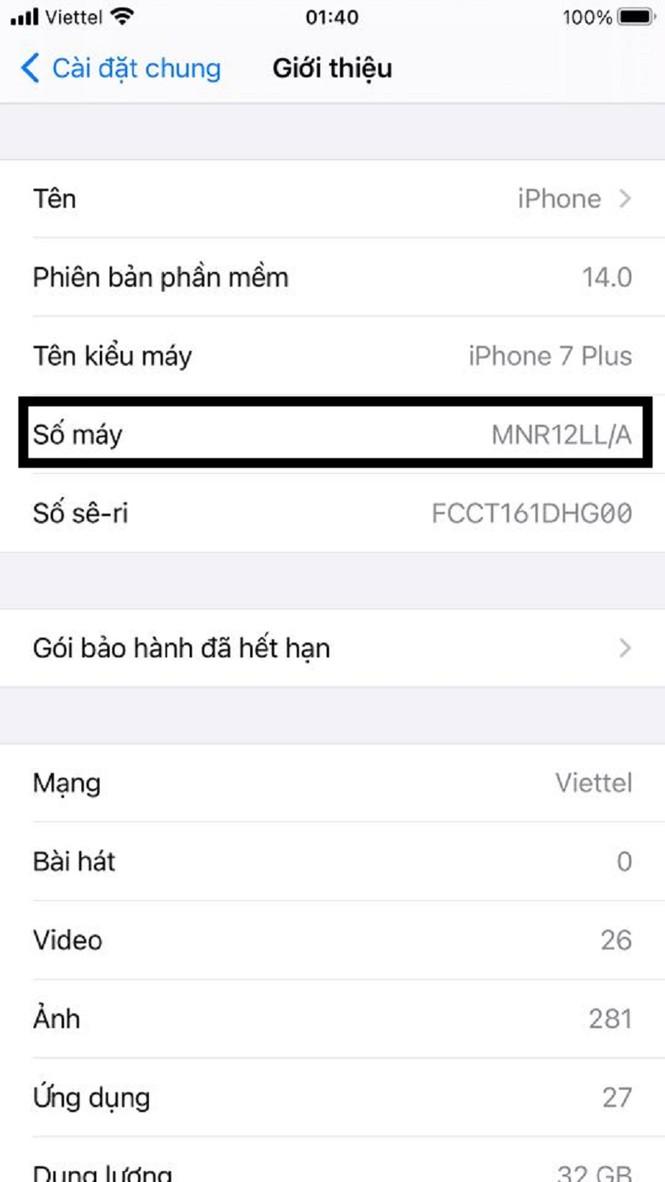 Hướng dẫn phân biệt iPhone chính hãng với iPhone xách tay - ảnh 3