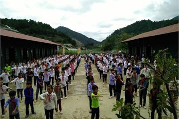Trường vùng cao chủ động phòng chống rét cho học sinh
