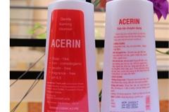 Sữa rửa chuyên dụng Acerin bị thu hồi vì lý do không ngờ