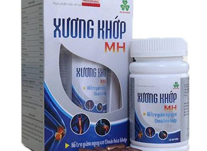 Xuong khop MH cua Moc Hoa Duong bi canh bao vi pham quang cao the nao?