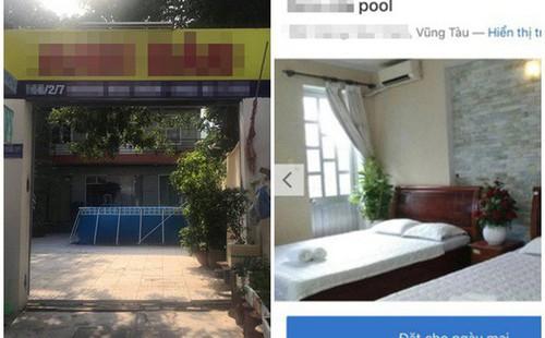 """Thuê villa có bể bơi, sân vườn, khách nữ """"choáng váng"""" khi nhận phòng"""