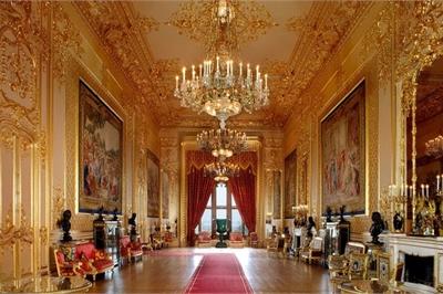 Chiêm ngưỡng nội thất xa hoa trong dinh thự có tới gần 1000 căn phòng
