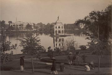 Ảnh cực hiếm về hồ Hoàn Kiếm thập niên 1890