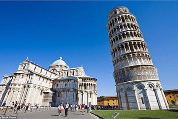 Vì sao tháp nghiêng Pisa mãi không thể đứng thẳng?